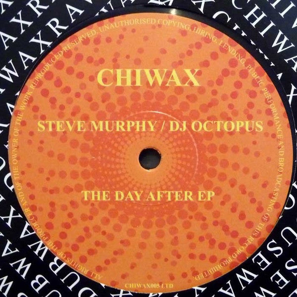 "Steve Murphy  / DJ Octopus - The Day After EP - 12"" - Chiwax - CHIWAX005 LTD"