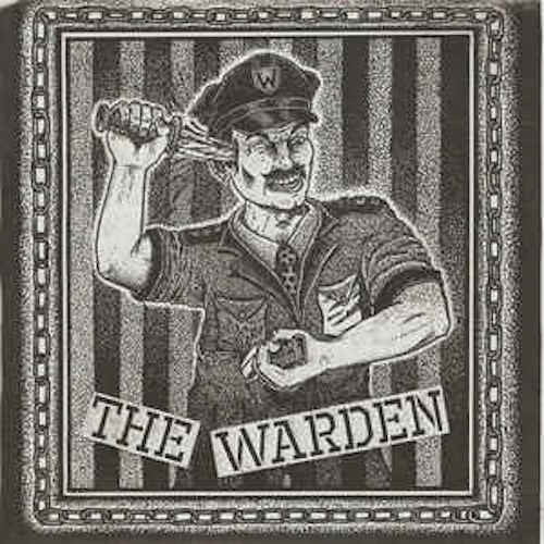 "The Warden - 7"" - Lumpy Records - LR-WARDEN"