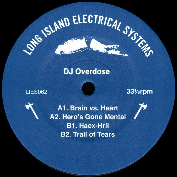 "DJ Overdose - Hero's Gone Mental - 12"" - LIES 062"