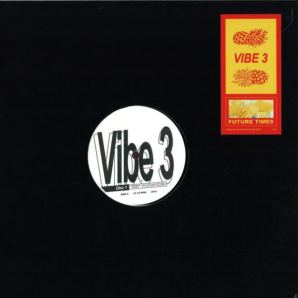 "VA - Vibe 3 Disc 1 - 12"" - Future Times - FT030"