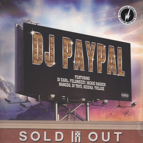 DJ PayPal - Sold Out - 2xLP - Brainfeeder - BF056