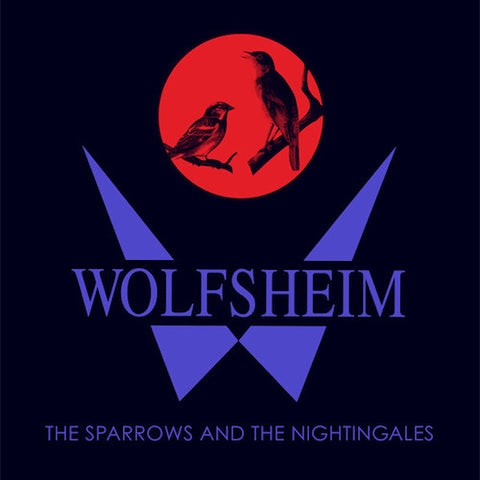 "Wolfsheim - The Sparrows and the Nightingales - 12"" - Dark Entries - DE-107"