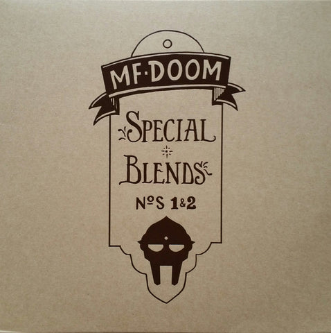 MF DOOM -  Special Blends N°S 1 & 2 - 2XLP - Metal Face Records - MFR100 - PREORDER