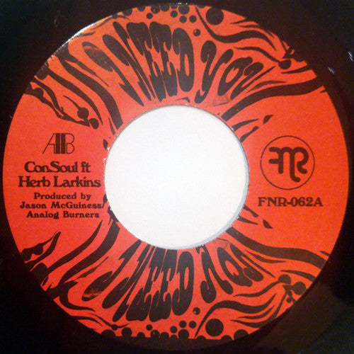 "ConSoul feat. Herb Larkins - I Need You - 7"" - Fnr - FNR-062"