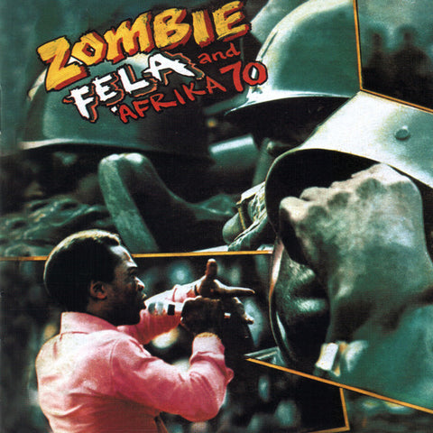 Fẹla Kuti - Zombie - LP - Knitting Factory Records - KFR2025-1