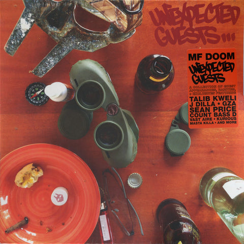 MF DOOM - Unexpected Guests - 2xLP - Metal Face Records - MFR-103 - PREORDER