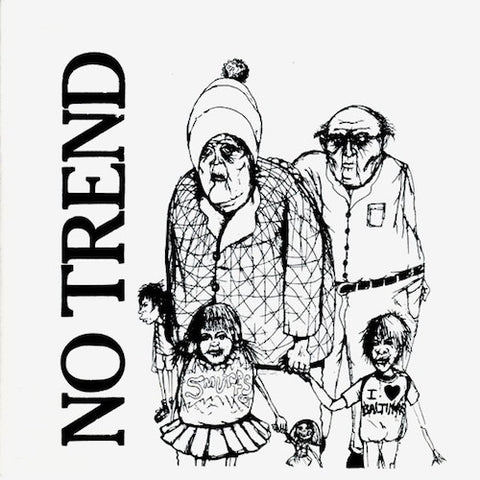 "No Trend - Teen Love - 7"" - Digital Regress - DR17"