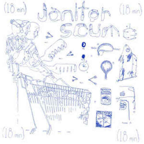 Janitor Scum - Scenes From the Grocery - LP - Lumpy Records - LR63