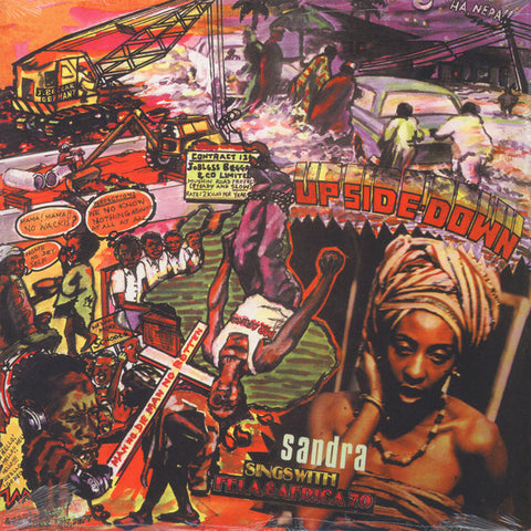 Fela & Africa 70 - Up Side Down - LP - Knitting Factory Records - KFR2023-1