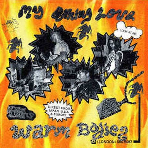 "Warm Bodies - My Burning Love - 7"" - Thrilling Living Records - TSF-003"