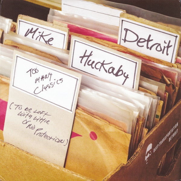 "Mike Huckaby - Too Many Classics - 2x12"" - Deep Transportation - 004"