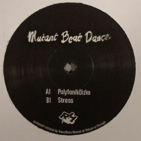 "Mutant Beat Dance - PolyfonikDizko - 12"" - Rush Hour - RHM 012"
