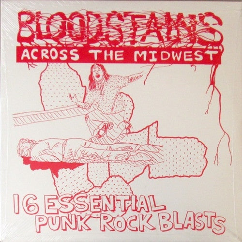 VA - Bloodstains Across the Midwest - LP - Bloodstains - BLOODSTAINS3