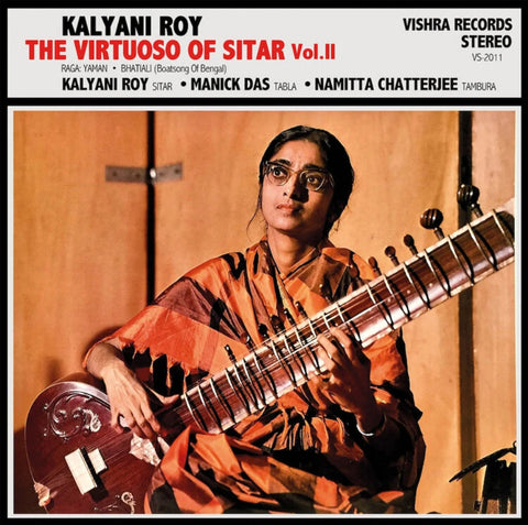 Kalyani Roy - The Virtuoso Of Sitar Vol. II - Vishra Records ‎- VS-2011
