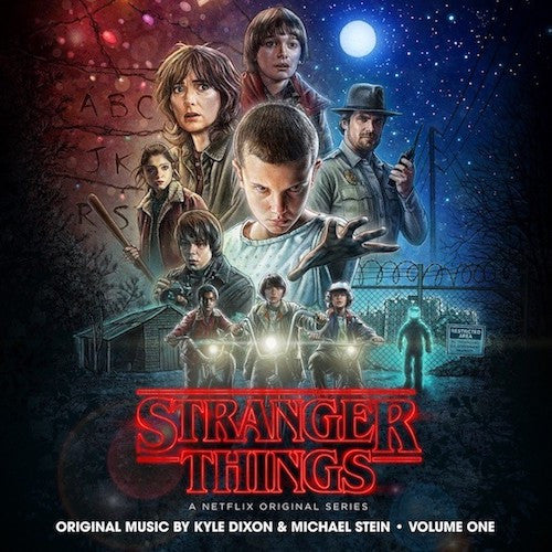 Kyle Dixon, Michael Stein - Stranger Things Volume One - 2LP - Lakeshore Records - LKS348552