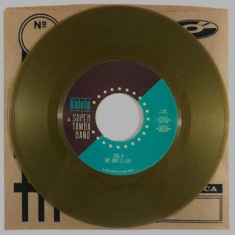 "Kaleta & Super Yamba Band - Mr. Diva - 7"" - Yamba Records - YR-45002"