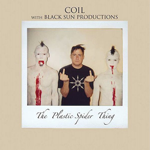 Coil with Black Sun Productions - The Plastic Spider Thing - 2xLP - Rustblade Records - RBL063LP