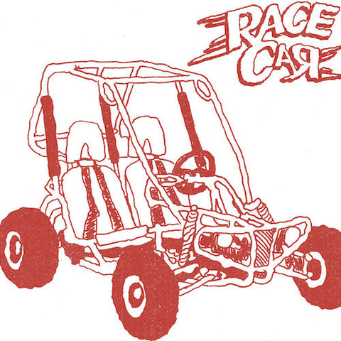 "Race Car - B.Y.O.G.K. - 7"" - Neck Chop Records - CHOP-016"