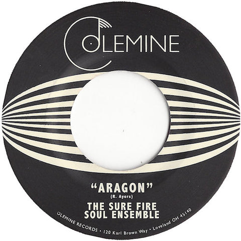 "Sure Fire Soul Ensemble - Aragon - 7"" - Colemine Records - CLMN-157"