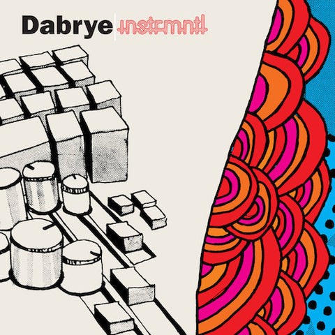 Dabrye - Instrmntl - LP - Ghostly International - GI-24