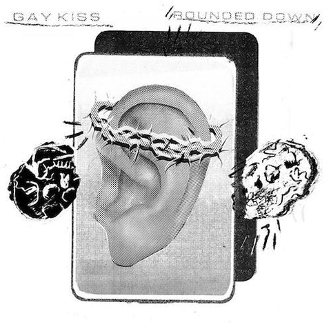 "Gay Kiss - Rounded Down - 7"" - Sorry State - SSR-88"