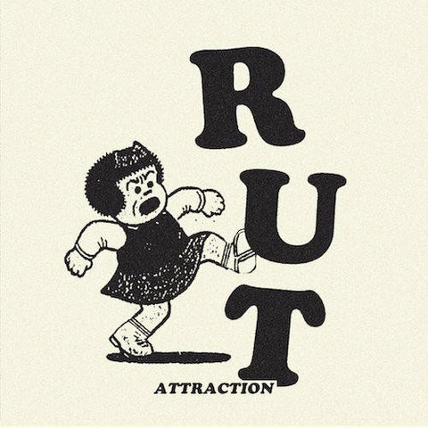 "Rut - Attraction - 7"" - Digital Regress - DR-10"