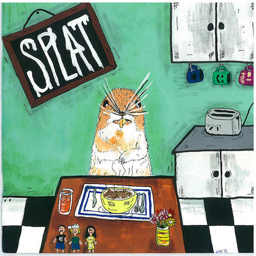 "Splat - 7"" - Saucepan Records - SP09"
