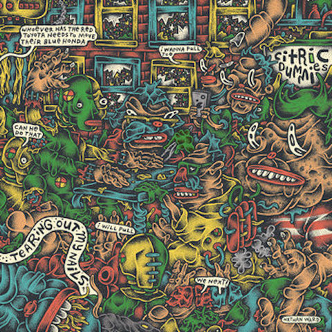 Citric Dummies - Tearing Out My Nails - LP - Fashionable Idiots - FIR-057
