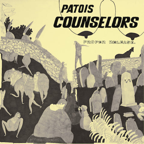 Patois Counselors - Proper Release - LP - Ever/Never - e/n-035