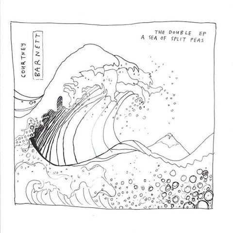 Courtney Barnett - The Double EP: A Sea of Split Peas - LP - Mom + Pop - MP160-1
