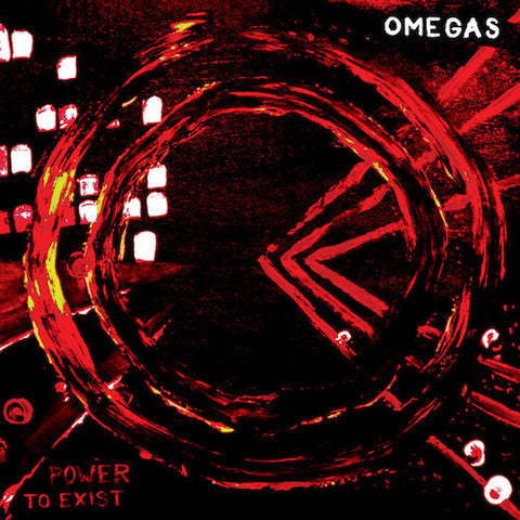 Omegas - Power to Exist - LP - Beach Impediment Records - BIR20