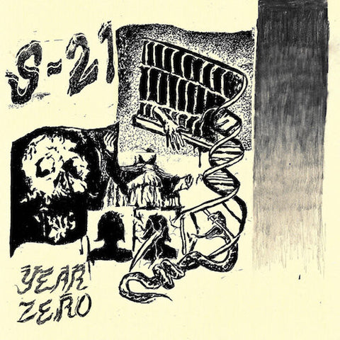 "S-21 - Year Zero - 7"" - World Gone Mad - WGM-009"