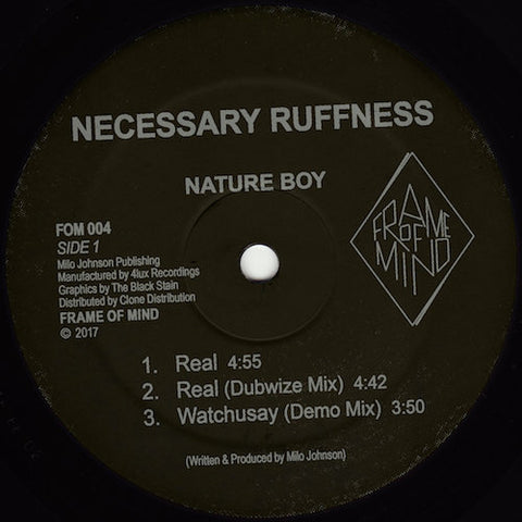 "Nature Boy - Necessary Ruffness - 12"" - Frame of Mind - FOM004"
