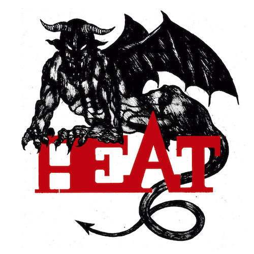"Heat - 7"" - Deranged Records - DY294"