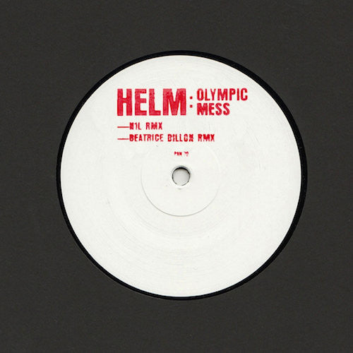 "Helm - Olympic Mess (N1L & Beatrice Dillon Remixes) - 12"" - Pan - PAN70"