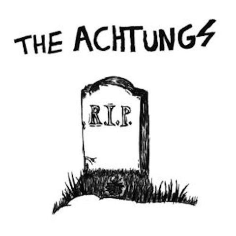 "Achtungs - Full of Hate - 7"" - Total Punk - TPR-23"