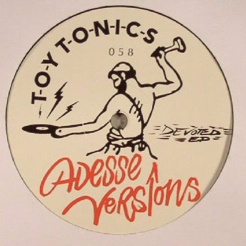"Adesse Versions - Devoted EP - 12"" - Toy Tonics - TOYT058"