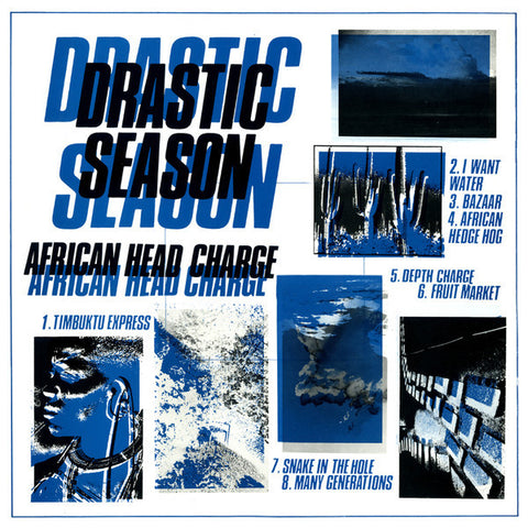African Head Charge - Drastic Season - LP - On-U Sound - ONULP27