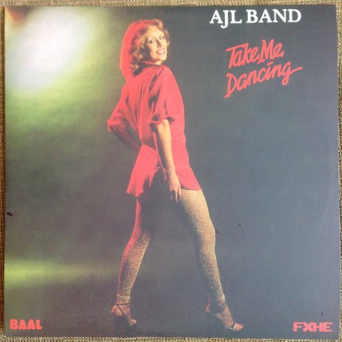 "AJL Band - Take Me Dancing - 2x12"" - FXHE TMD"