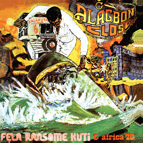Fela Kuti ‎- Alagbon Close - LP - Knitting Factory Records ‎- KFR-2011-1