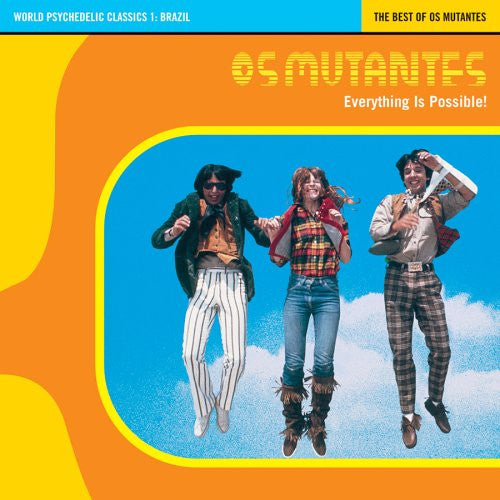 Os Mutantes - Everything Is Possible! - The Best of Os Mutantes - LP - Luaka Bop - 68089-90036-1-2