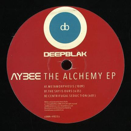 "Aybee - The Alchemy EP - 12"" - Deepblak - DBRV 023"