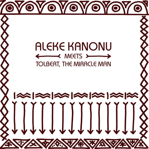 "Aleke Kanonu meets Tolbert, The Miracle Man - Happiness - 12"" - PMG029EP"