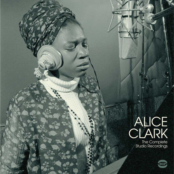 Alice Clark - The Complete Studio Recordings 1968-1972 - LP - BGP Records - HIQLP045