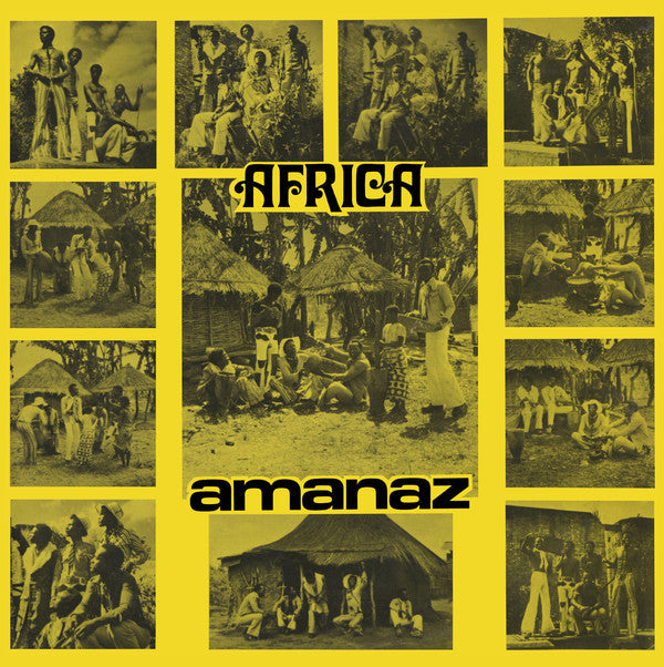 Amanaz - Africa - 2xLP - Now-Again Records - NA 5123