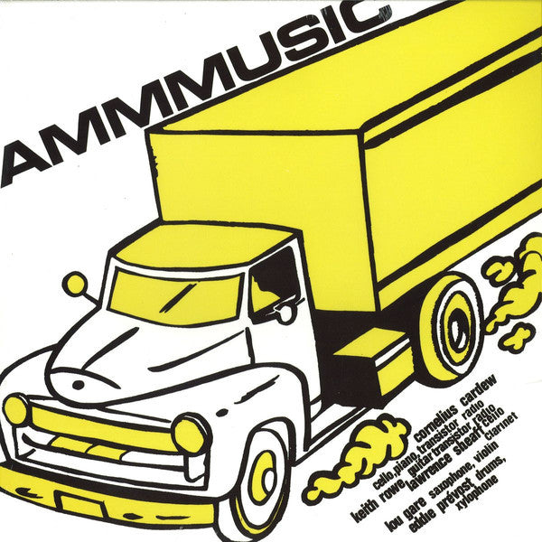 AMM - AMMUSIC - LP - Black Truffle - BT018