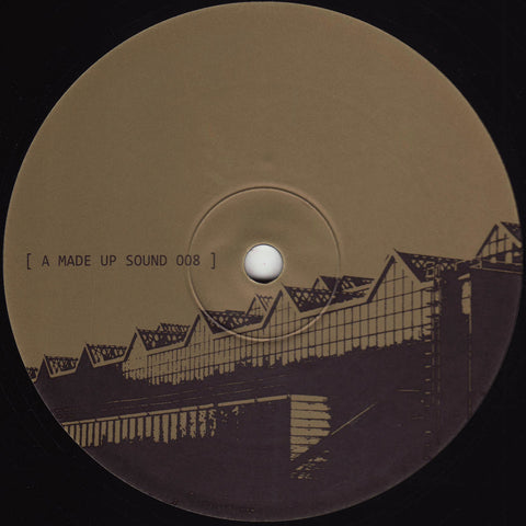 "A Made Up Sound - Havoc / Half Hour Jam On A Borrowed Synth - 12"" - A Made Up Sound - AMS008"