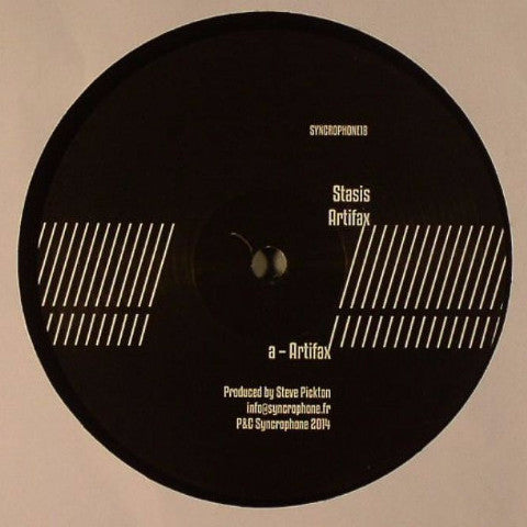 "Stasis - Artifax - 12"" - Syncrophone Recordings - SYNCRO 18"