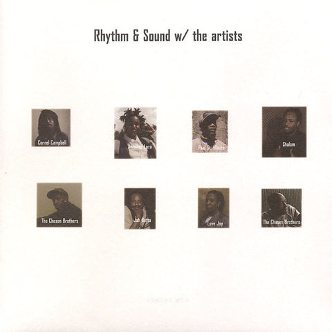 Rhythm & Sound ‎– w/ the Artists - LP - Burial Mix - BMLP-2
