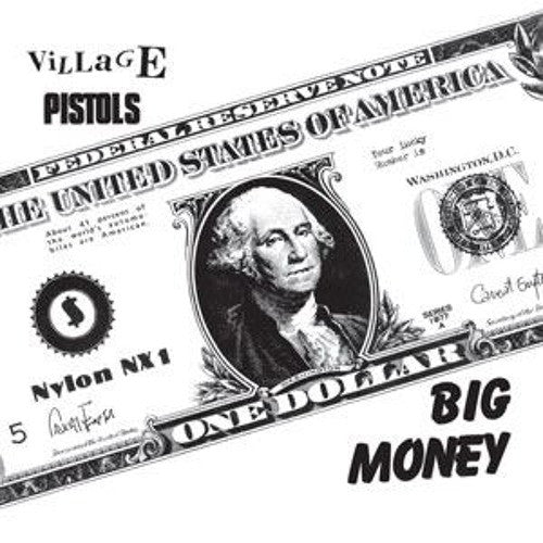 "Village Pistols - Big Money - 7"" - Last Laugh Records - HAW-028"